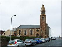 NS2059 : St John's Church, Largs by Humphrey Bolton