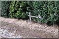 TL0442 : Footpath onto Bedford Road by Philip Jeffrey