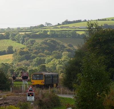 Train at Umberleigh Crossing