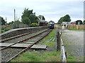 NO6658 : Bridge of Dun railway station, Angus by Nigel Thompson