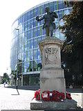 TL4557 : War Memorial by Keith Evans