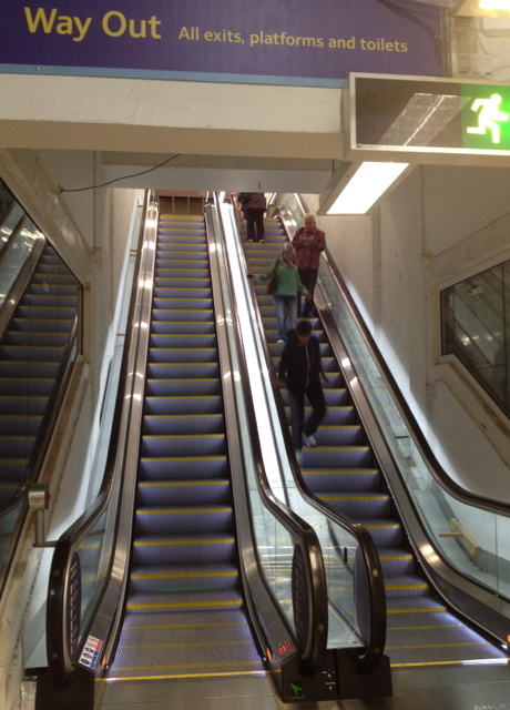 All change at New Street: new escalators to platforms 4 and 5