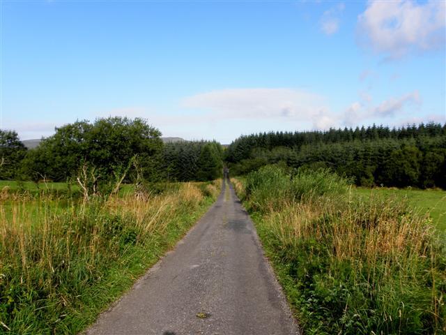 Road at Corraclassy
