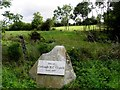 H1819 : Site of Corlough RC Church until 1857 by Kenneth  Allen