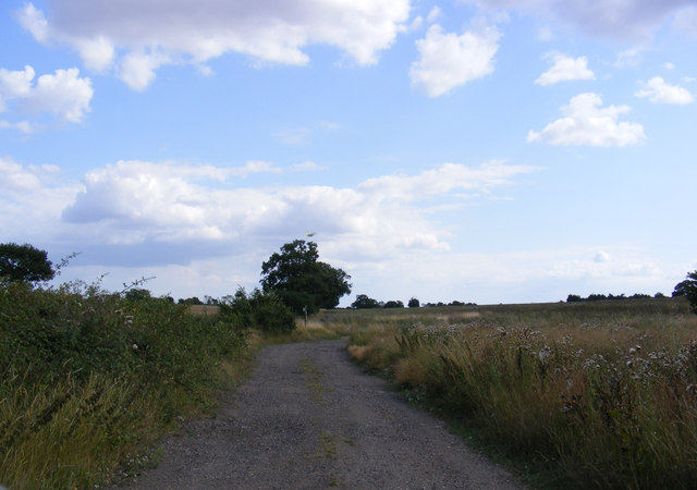 Footpath to Old Hall Road