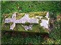 SN1107 : Small Gravestone, Begelly Church by welshbabe