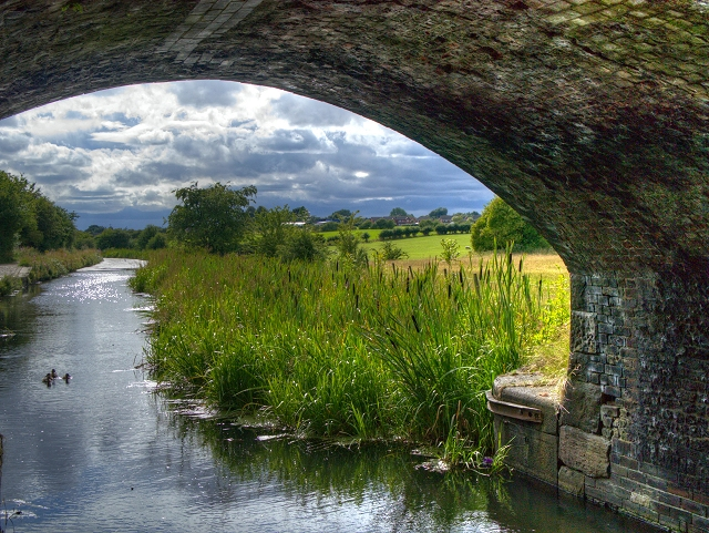 Manchester, Bolton and Bury Canal at Withins