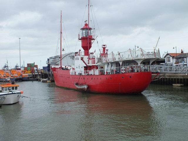 Ex Trinity House Light Vessel LV18