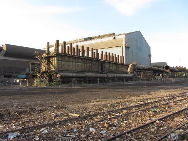Tremorfa steelworks by Gareth James