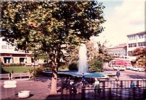 SP3379 : Belgrade Square, 1981 by FCG