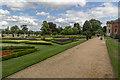TL3351 : Garden, Wimpole Hall, Cambridgeshire by Christine Matthews