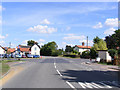 TM1083 : B1077 Church Road, Shelfanger by Adrian Cable