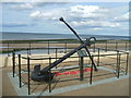 NZ6025 : Anchor memorial on Redcar seafront by John M