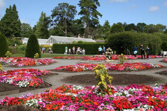 St Fagans Castle - gardens