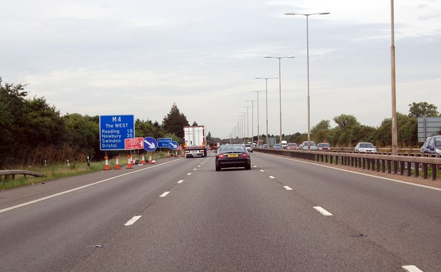 M4 west of Junction 7