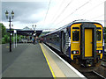 NS3975 : Dumbarton Central railway station by Thomas Nugent