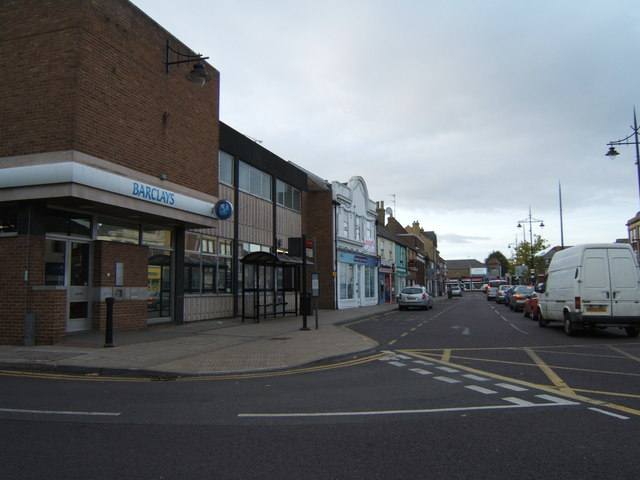 The High Street, March