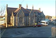 SH4862 : North side of former Board School, Caernarfon by Jaggery