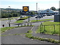 SO1409 : Lidl supermarket and car park, Tredegar by Jaggery