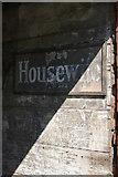 TF4066 : Signboard, Spilsby marketplace by Christopher Hilton