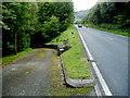 SN9723 : Access lane to Pentwyn south of Libanus by Jaggery