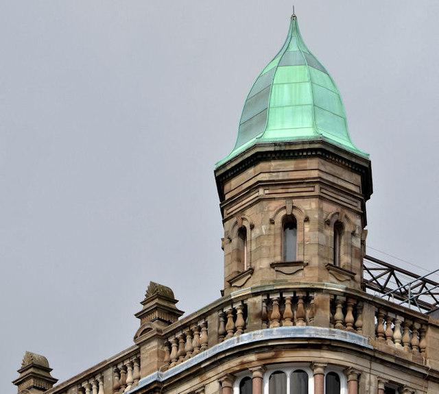 Turret, former Robinson & Cleavers, Belfast