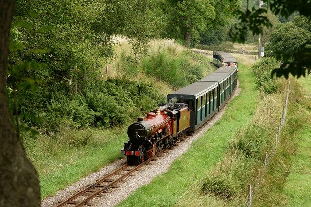 Approaching Eskdale Green