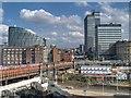 SJ8499 : Manchester's Co-Op Quarter by David Dixon