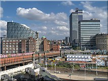 SJ8499 : Manchester's Co-Op Quarter by David Dixon