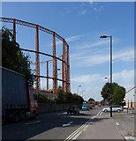 SU4212 : Britannia Road by Peter Facey