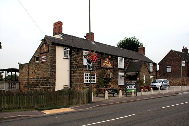 The Fox and Hounds at Marsh Lane