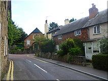 TQ4655 : Church Lane, Brasted by Marathon