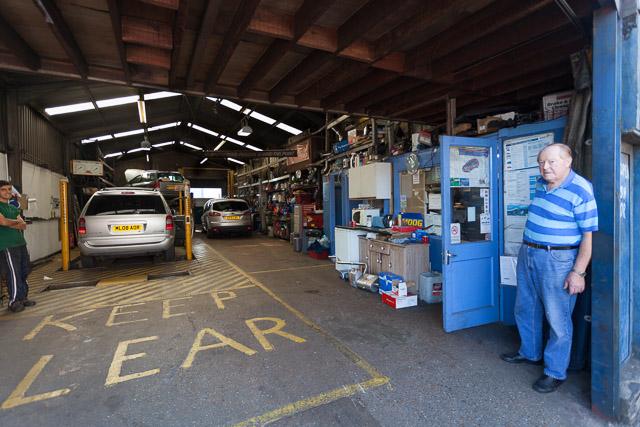 Radcliffe Road Garage, Northam