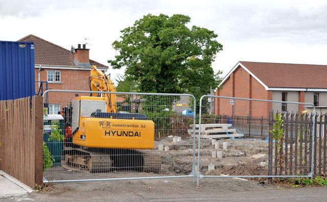 """""""Palmerston"""" housing site, Belfast (2013-3)"""