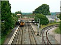 ST9897 : Kemble Railway Station, Kemble by Brian Robert Marshall