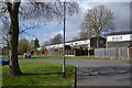 SP0565 : Rear of houses, Eckington Close, Woodrow, Redditch by Robin Stott