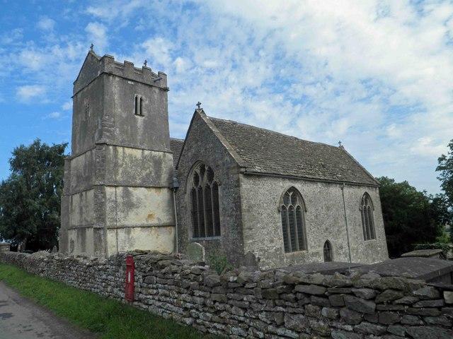 The Church at Churchend near Charfield