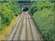 ST9897 : North portal, Kemble Tunnel, Kemble by Brian Robert Marshall