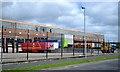 SP0765 : Halfords warehouse loading bays, Bartleet Road, Washford, Redditch by Robin Stott