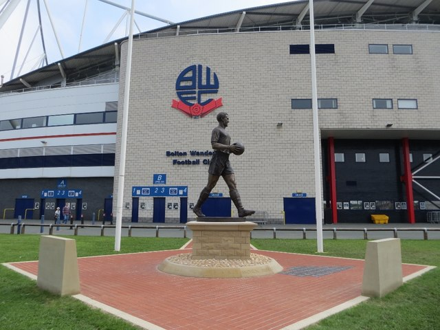 Statue of Nat Lofthouse