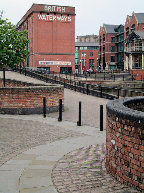 Nottingham: canal and Castle