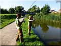 SD5131 : Fishing In The Lancaster Canal by Rude Health