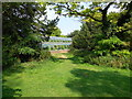 TQ3309 : Greenhouse, Stanmer Park by Paul Gillett