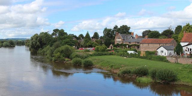 River Wye at Wilton