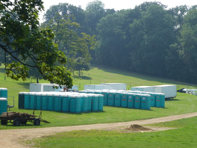 Toilets galore for Burghley Horse Trials