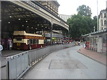 TQ2879 : Victoria Station frontage by Sandy B