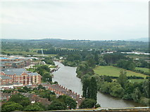 SO8453 : Worcester - view towards Diglis by Chris Allen