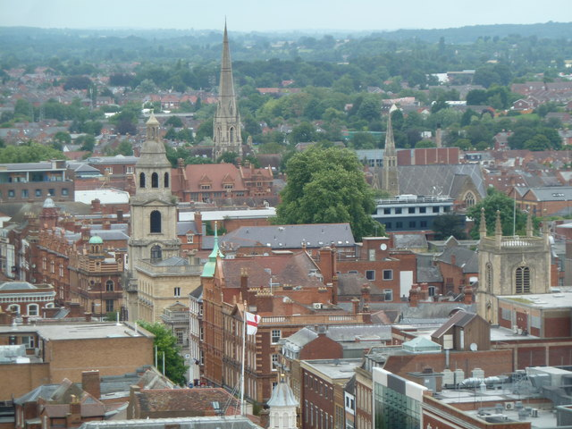 Worcester City of spires and domes