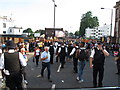 TQ2382 : Plenty of police at Notting Hill Carnival by David Hawgood