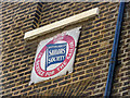 TQ3681 : Plaque, British and Foreign Sailors' Society, Newell Street, Limehouse, London by Christine Matthews